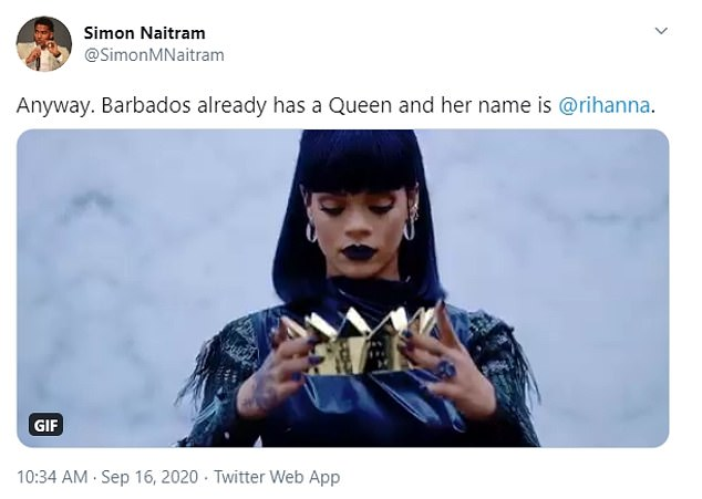 Loved: Many agreed that when it comes to queens, Rihanna is the only one the nation needs