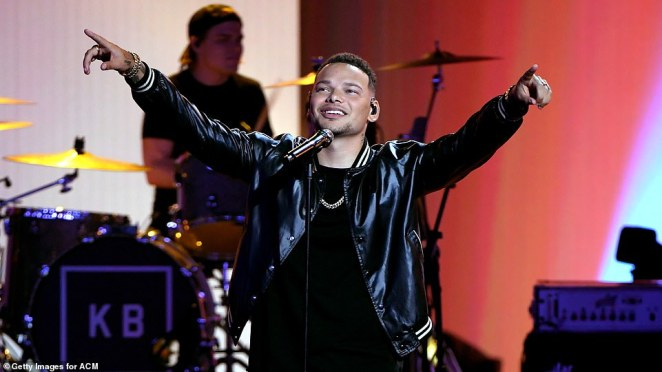 Powerful: Kane Brown, 26, moved many to tears with his powerful genre-bending track Worldwide Beautiful