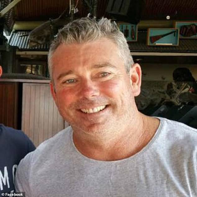 Nick Slater (pictured) was attacked by a shark at Greenmount Beach on the Gold Coast