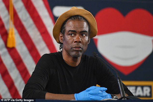 Comedian Chris Rock, 55, claimed Democrats were so focused on impeaching President Trump earlier this year that they allowed the coronavirus pandemic to hit the United States