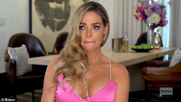 Strong denial: Denise Richards has strongly denied having an affair with Brandi