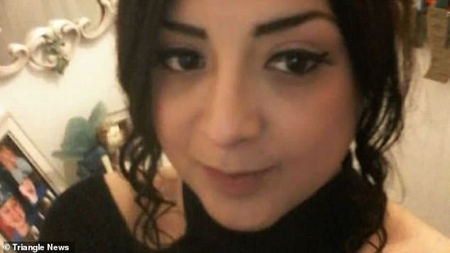 Police described Ms Gharsallah as 5ft 2in tall, with shoulder-length dark hair, often worn in a top knot with a piercing above her left lip