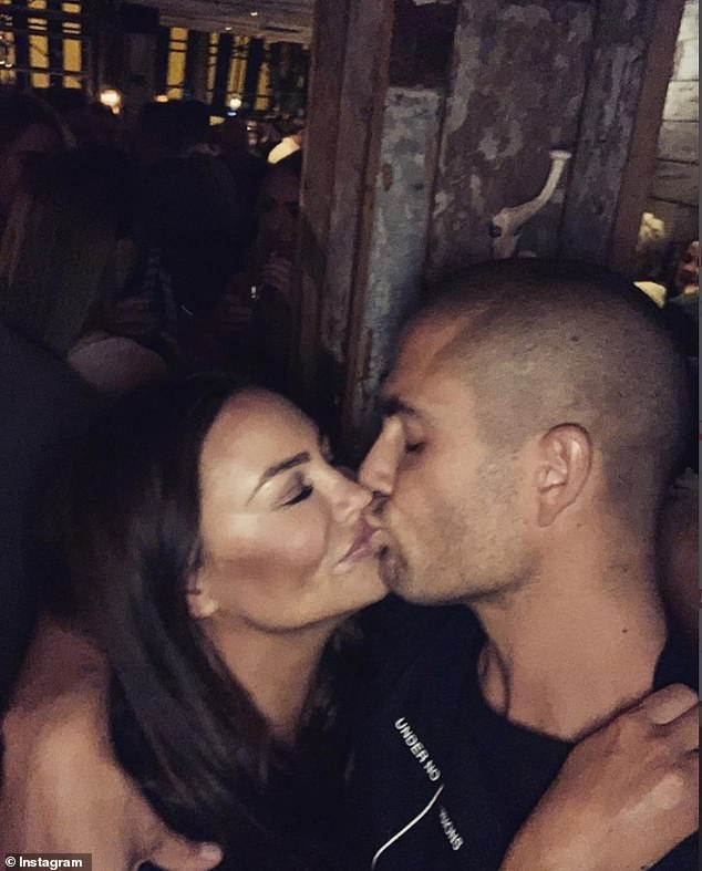 In love: The post comes after a source close to Stacey that she and Max are not worried about the infamous Strictly curse