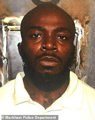 Melvin Martin Jr., 30, was arrestedin Markham, Illinois on Tuesday after his family members discovered the body parts in his luggage about a week after he had arrived