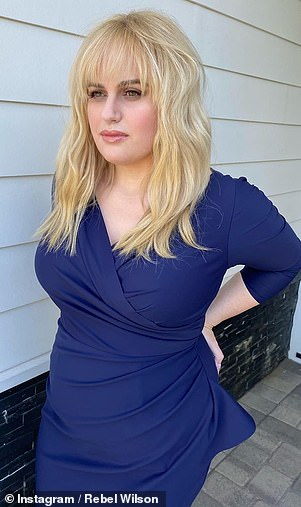 Wow! Last month, Rebel updated fans on her weight loss journey by sharing photos to Instagram of herself looking slimmer in a tight blue dress