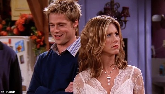 Famous:Brad famously made a guest appearance on Jennifer's hit TV sitcom Friends in 2001, a year into their marriage