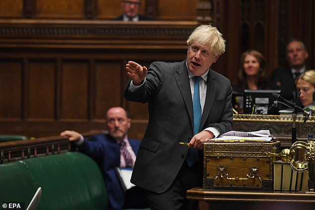 Mr Johnson faces a battle to pass legislation that would allow ministers to break international law to override part of the deal he signed last year to avoid customs checks between Northern Ireland and Britain