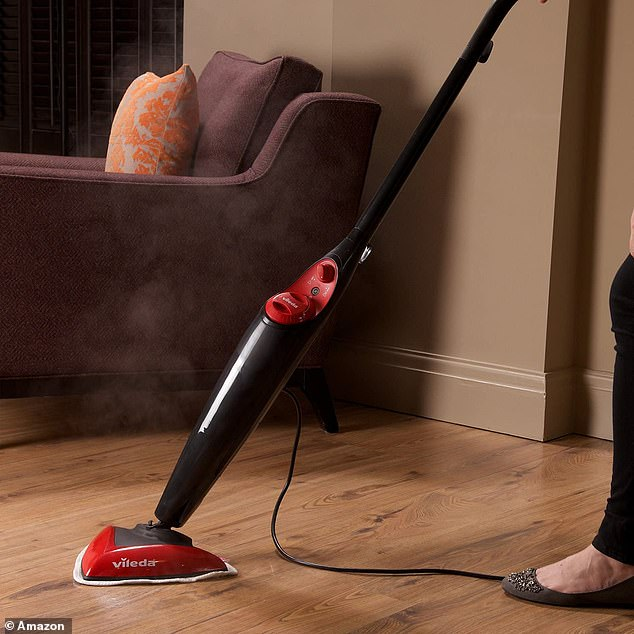 Now £55.99,the popular steam cleaner from Vileda has earned a near-perfect rating of 4.6 out of 5 stars and racked up over 2,600 reviews