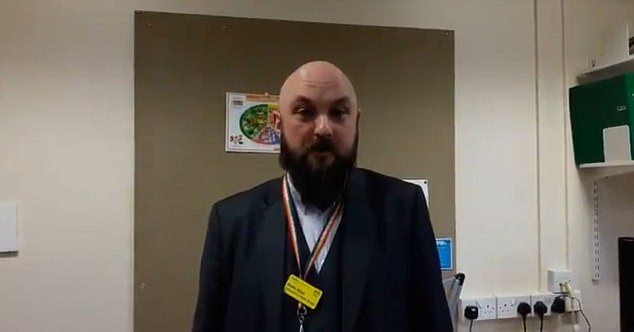 Dr Keith Allan (pictured), the NHS Borders director of public health, said travel was only recommended for 'essential purposes' including school and work, reported The Scotsman