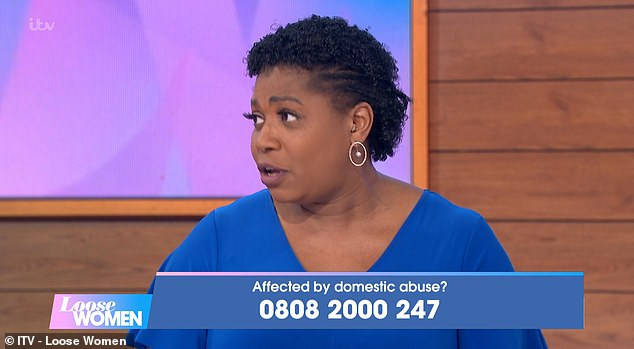 While Brenda has since had counseling, she explained that for around four years, she was forced to think 'four steps ahead'