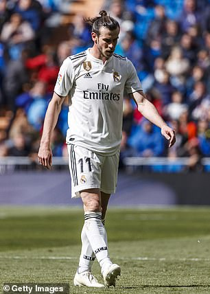 Real Madrid appear to have wasted no time in cuttingties with outgoing forward Gareth Bale