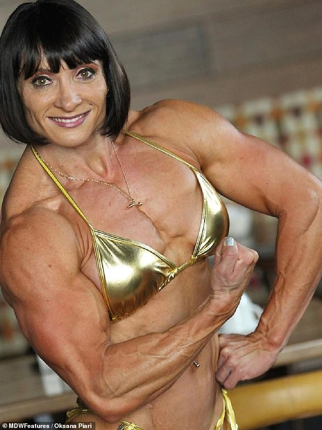 Say what? Oksana recalled one awkward encounter she had with a stranger at the gym who came up to her and asked if she is 'really a woman'