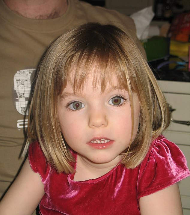 In June, Brueckner was identified the German man as a suspect in the case of Madeleine McCann (pictured), who disappeared from an apartment in 2007 while her family was on holiday in the resort of Praia da Luz, Portugal