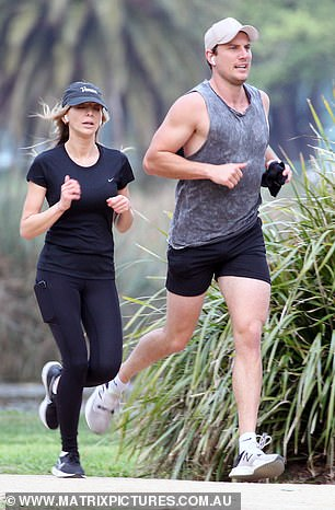 Moving on:It's been more than one year since Nadia Bartel and her AFL star ex-husband Jimmy announced their shock split