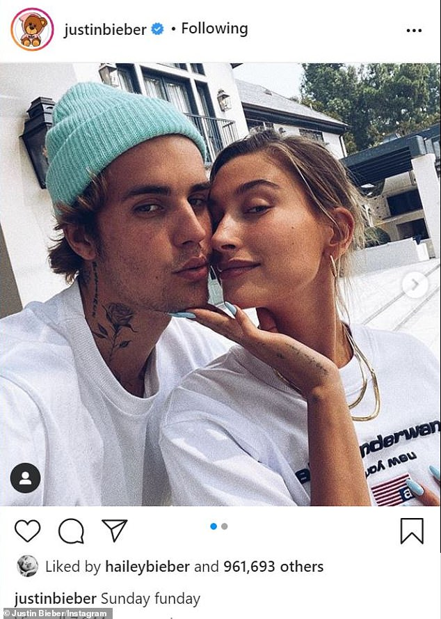 Her husband:This comes just after Hailey and Justin marked their second wedding anniversary with a low-key picnic in Santa Monica