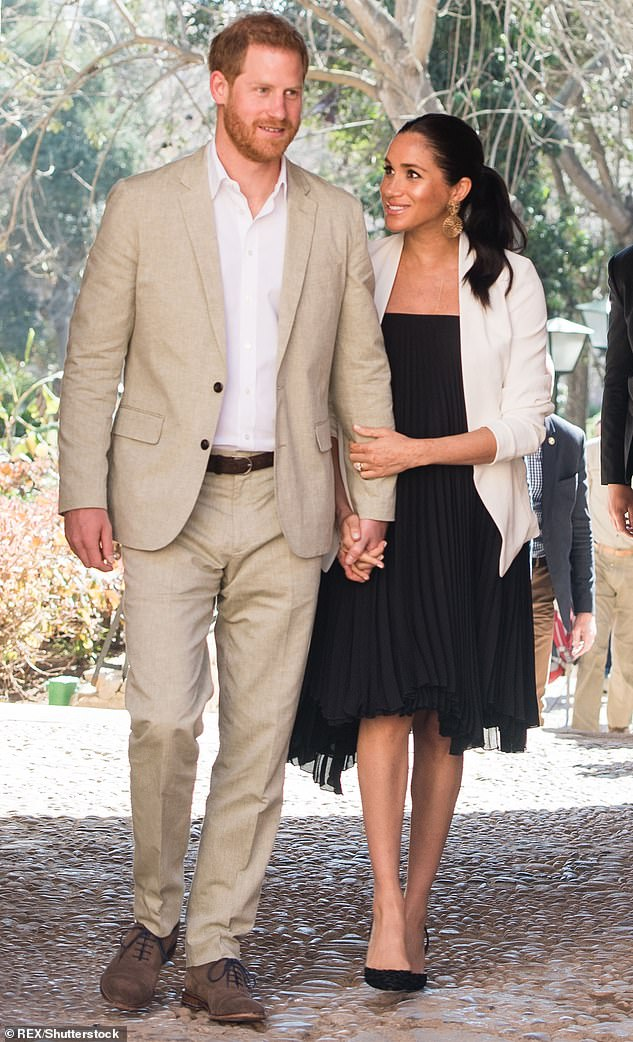Rumors that Harry and Meghan are seeking a foothold in Hollywood have been rife since the couple announced plans to step down as royals, seek financial independence and relocate to North America in January.