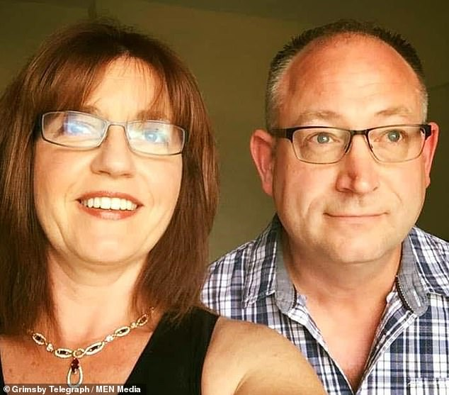 Ian Hamer, 54, (pictured right) was convicted on Friday after a three-week trial at Hull Crown Court and was jailed for life after murdering wife Joanne (left)