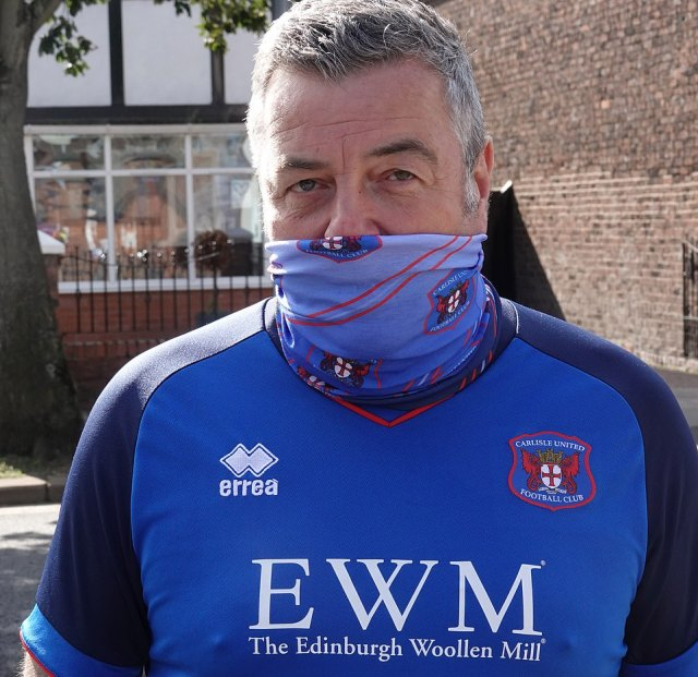 Paul Barrett drove 250 miles to the club from his home in Wales to see Carlisle United, he said: 'This club is my life'