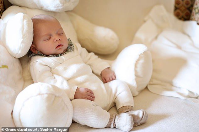 The royal family of Luxembourg shared pictures of the adorable Prince Charles on Instagram in June, he was born on May 10