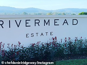 Pictured: Rivermead Estate, which costs up to $6,000 per night