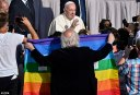 Here We Go and the Devil is a Lie: Pope Francis Tells Parents of Homosexual, Lesbian, and Transgender Children That 'God Loves Them as They Are' – What He Should Have Told Them is That God Loves Everybody as They Are but if They Don't Believe in Christ and Repent of Their Sins Which Includes Repenting of the Abomination of Homosexuality, They Are Going to Hell and They Can't Blame God for That, They Have to Blame Themselves for That. And That is the Same Thing the Pope Should Tell Parents With Children Who Are Adulterers, Fornicators, or Drunkards