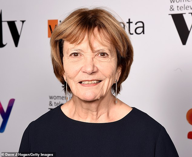Baroness Bakewell also told of how a group of women at the BBC tried to lodge a complaint against a male member of staff who later got promoted 'pretty near the top'