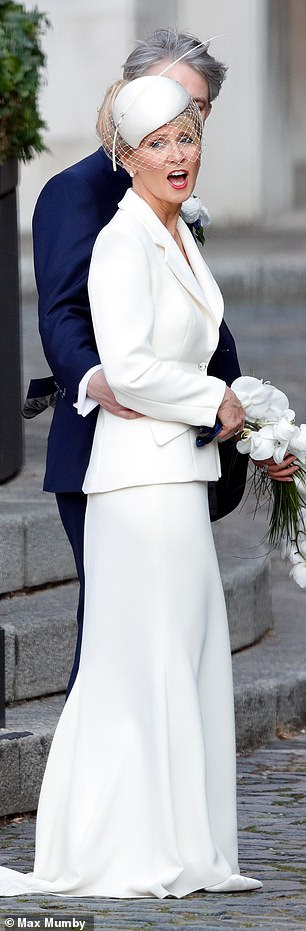 Esther McVey married fellow Tory MPPhilip Davies in a Westminster ceremony