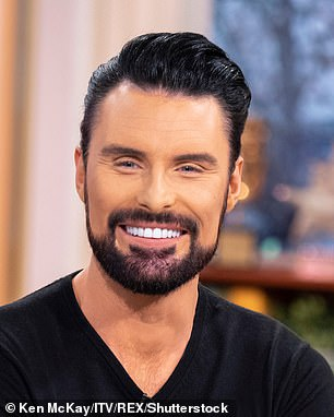 Rylan Clark-Neal is pictured above