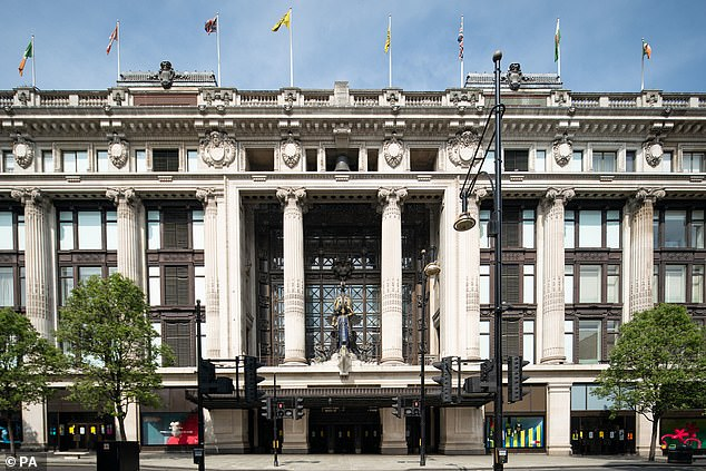 Selfridges managing director Anne Pitcher said it was ¿another nail in the coffin¿ for city centre firms reeling from lockdown and working hard to lure shoppers, Pictured: File image of Selfridges