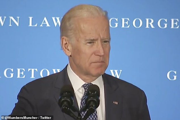 Joe Biden slammed Republicans in 2016 for holding up a Supreme Court appointment stating that it is the 'constitutional duty' of a president to nominate if a vacancy becomes available