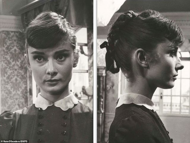 The British actress, who died in 1993, was said to be so fond of the photos, of which there are 14 in total, that she kept them for the rest of her life.