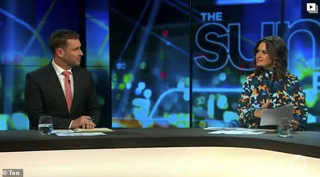 Peter Van Onselen (left) agreed with Wilkinson (right) on Sunday night's The Project