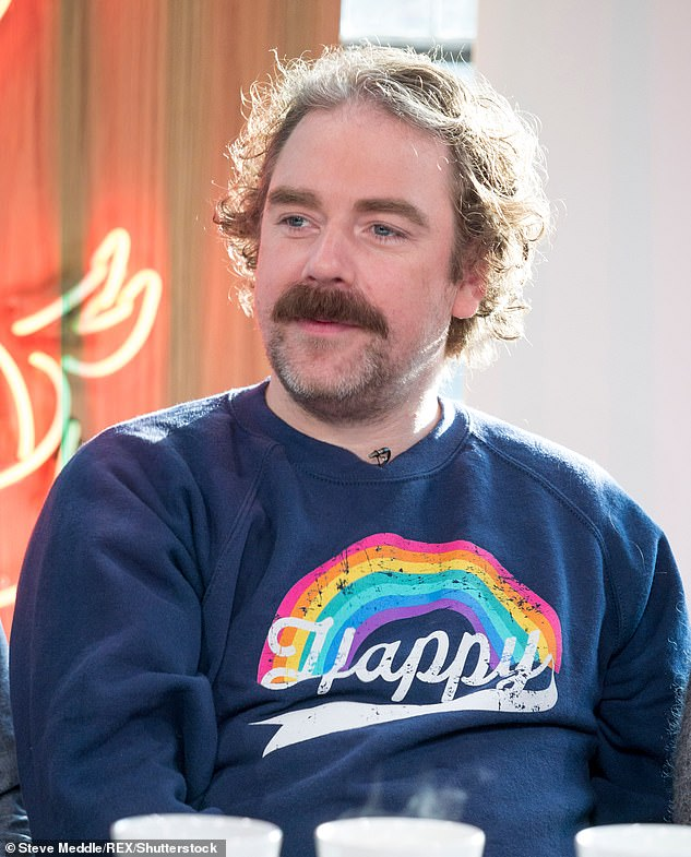 Exciting:Dancing On Ice has also reportedly signed actor Rufus Hound (pictured in 2018) for the 2021 series