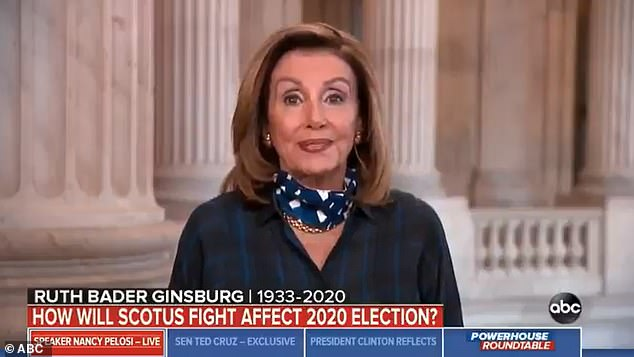 During the interview, Pelosi refused to rule out pushing forward a privileged impeachment resolution that would have the effect of eating up Senate floor time in the hope of potentially stalling a Supreme Court nomination