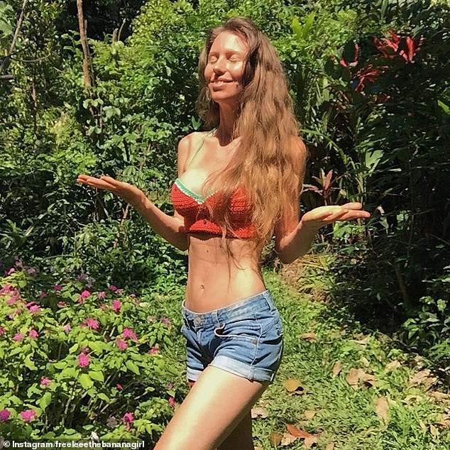 The controversial raw vegan - whose real name is Leanne Ratcliffe - celebrated the birthday milestone in Australia with her boyfriend