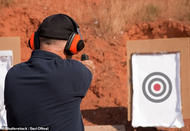 After that refusal occurred in March 2017, Edwards arrived at the range, tracked the club president down and became 'extremely aggressive' (stock picture)