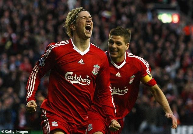 Unsurprisingly, former Liverpool team-mate Steven Gerrard made the cut for Torres' team
