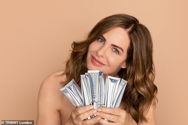 'I wanted to create the first true skincare makeup hybrid. It's first of its kind - beyond anything else out there' – Trinny Woodall, founder and CEO