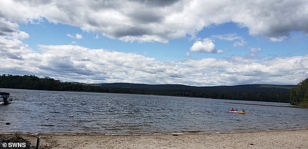 The family have not been to the lake (pictured) since and are still reeling from the racist behavior of the two women. Katherine said: 'We were denied to be in the places that we paid for and it was obviously because of our skin tone and the way we speak. Nobody else was being harassed. It was humiliating and embarrassing'
