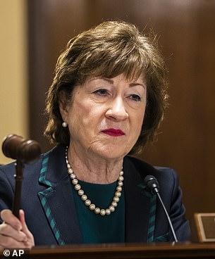 Sen.Susan Collins has also dissented