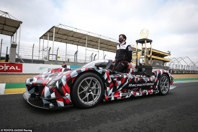 Hypercar debut: Toyota showcased its Gazoo Racing Super Sport hypercar mule at the Le Mans 24 Hours event this weekend