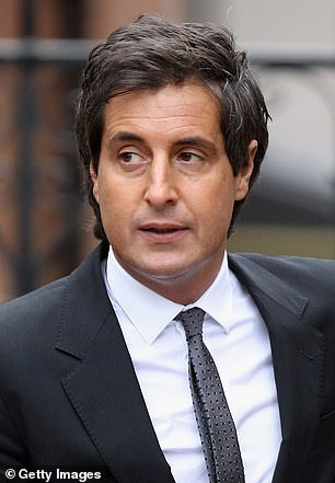 David Sherborne (pictured) has been dropped a Meghan's barrister in favour of Justin Rushbrooke