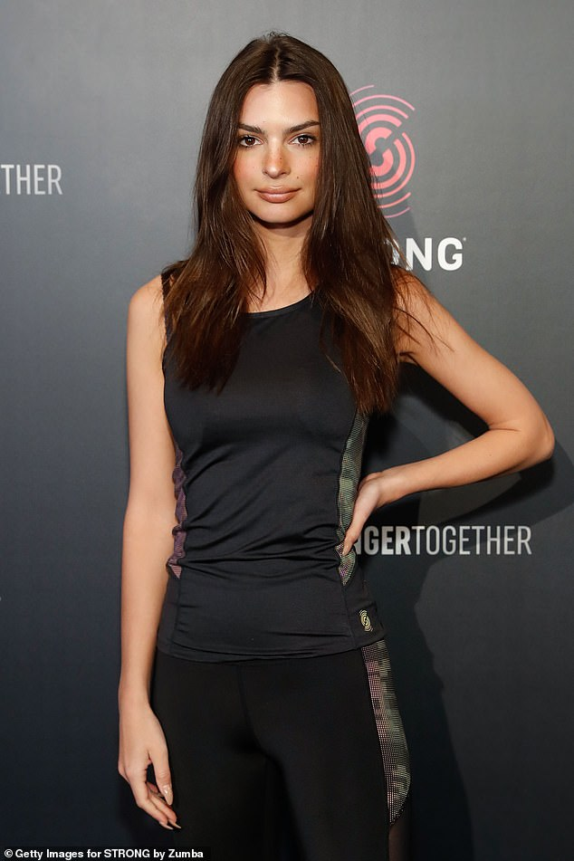 Bomb: In an essay for The Cut,Ratajkowski (pictured) accused Leder of digitally penetrating her during a nude shoot at his home in 2012, saying she had to remove his fingers 'with force'