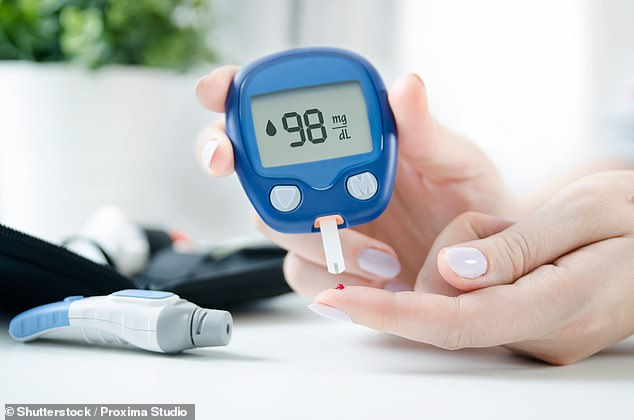 Scientists at Newcastle University found type 2 diabetics can restore their pancreas to a healthy shape if they go into remission by losing around two stone. (Stock image)