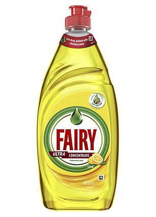 It can be achieved with this generic dishwashing liquid, available in leading supermarkets like Coles and Woolworths