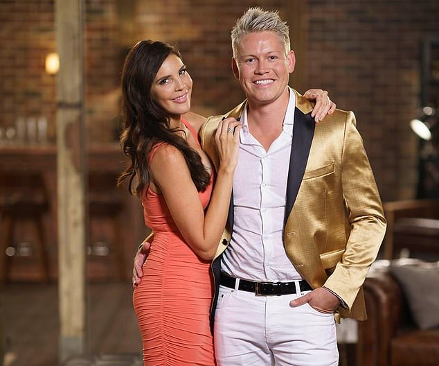 The couple you never saw coming! Tracey Jewel (left)  sent jaws dropping as she flaunted her steamy fling with Sean Thomsen (right) at the reunion