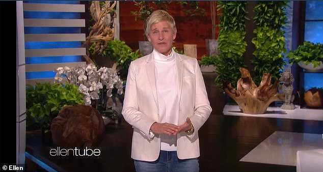Claims: Among the allegations against DeGeneres ran a workplace which fostered racism, sexual misconduct and bullying. She apologized to staff privately in a conference call