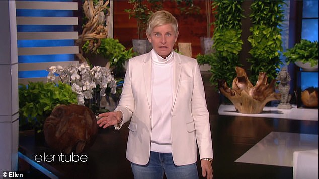 Apology: On Monday, the comedian kicked off the 18th season of her daytime talk show by telling her virtual audience she was 'taking responsibility' for the scandal, while also acknowledging she was not a behind-the-scenes villain that several reports had suggested