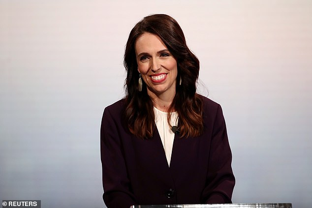 Jacinda Ardern's Labour party remains in a commanding position to win next month's New Zealand election despite losing ground in a poll released on Tuesday