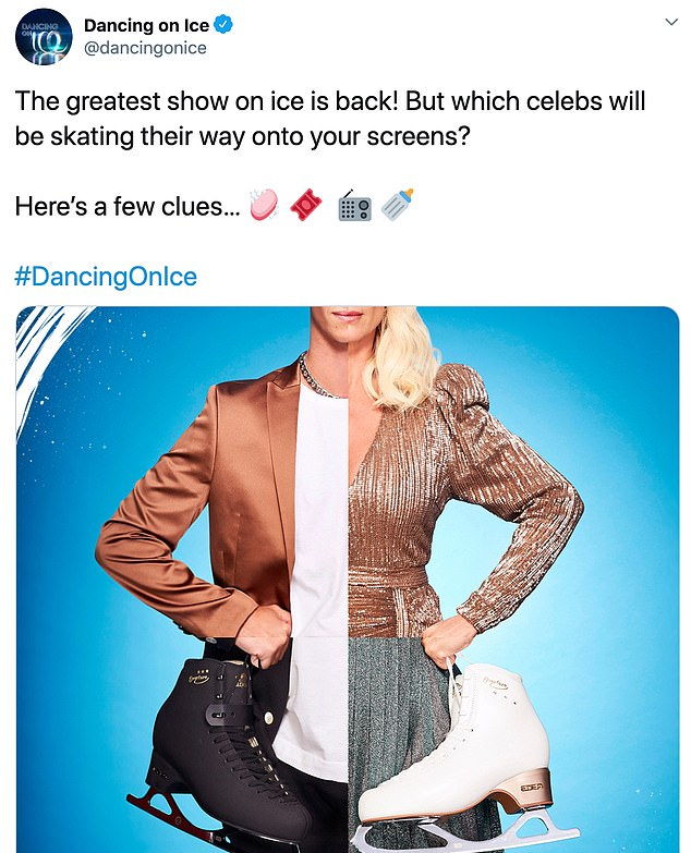 Confirmed! Earlier this week, the skating show gave fans a preview of the ad by sharing a photo of a mix of Joe and three other contestants.